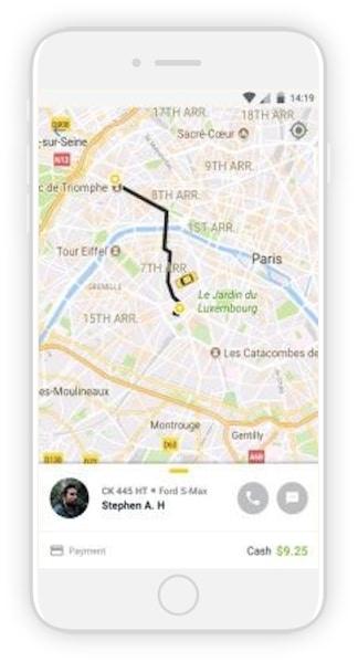 vtc taxi app devlopment